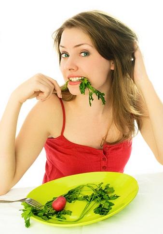 Healthy diet lips