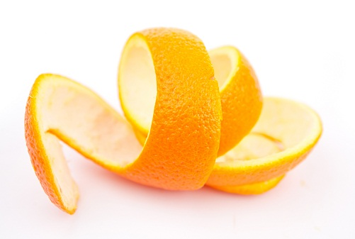 Home Remedies for Black Spots - Dry Orange Peel Powder