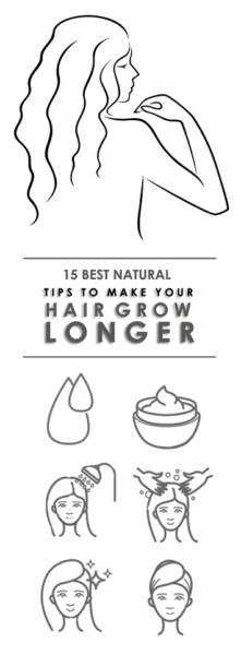 How To Get Long Hair Naturally At Home