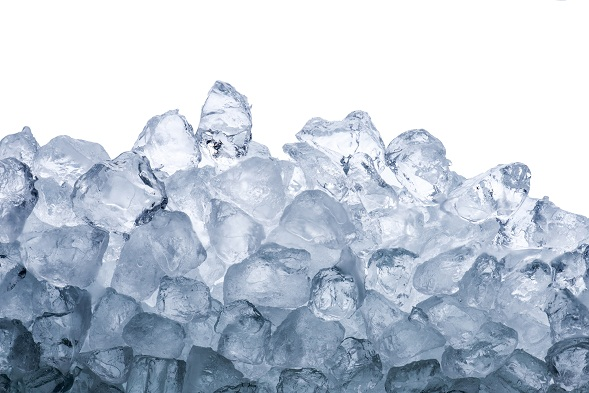 Ice for muscle strain