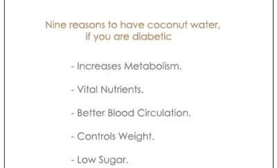 Is Natural Coconut Water Good For Diabetics