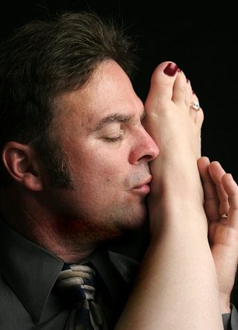 Kiss the foot