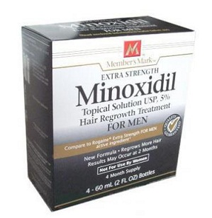 Minoxidil for long hair