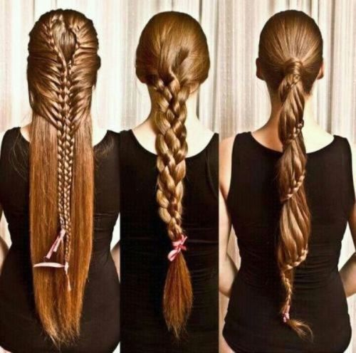 Pony Braided