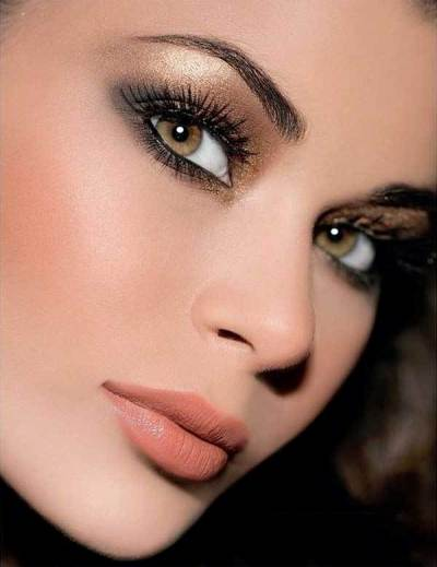 Sultry Smokey Hazel Eyes