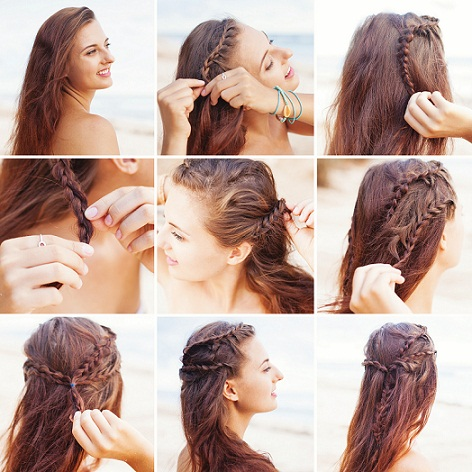 Top 9 Braided Bangs Hairstyles
