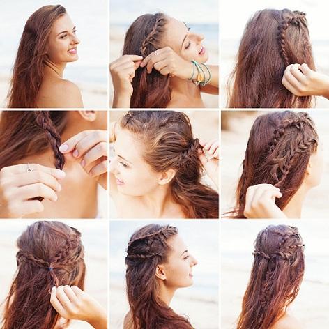 Sensational Top 9 Braided Bangs Hairstyles Styles At Life Short Hairstyles For Black Women Fulllsitofus