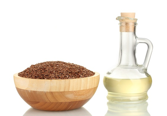 Treat Chapped lips - flax seed oil