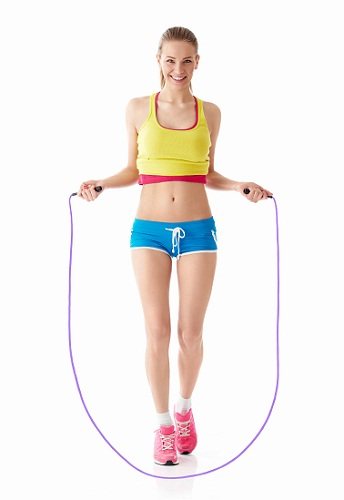 Ways To Grow Taller Naturally - Rope Jumping