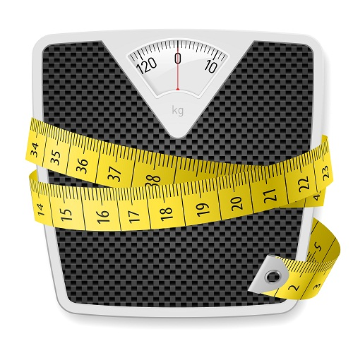 Weight and measuring tape