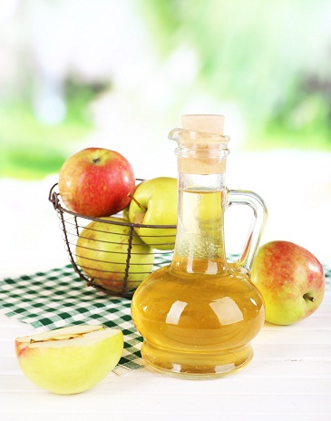 apple cider vinegar for spa