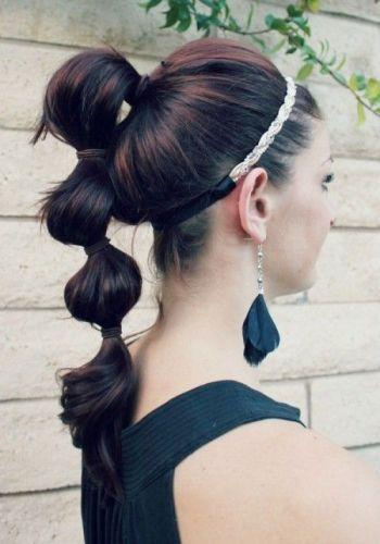 ballon ponytail