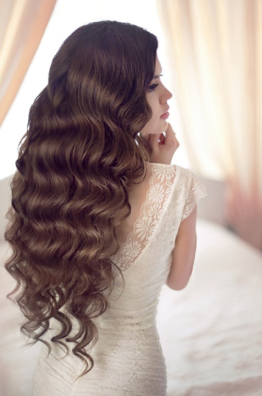 Long Curly Hairstyle for Wavy Hair