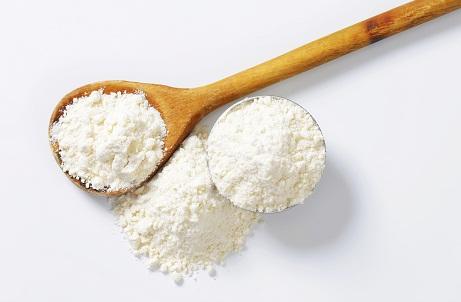 cornstarch flour for oily hair