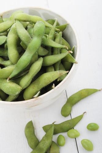 fresh soya beans