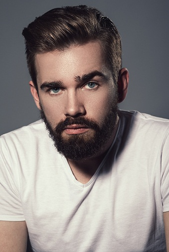 thick top side part hair - Short hairstyles for boys