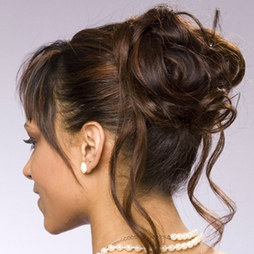 Wavy Buffon Hairstyle