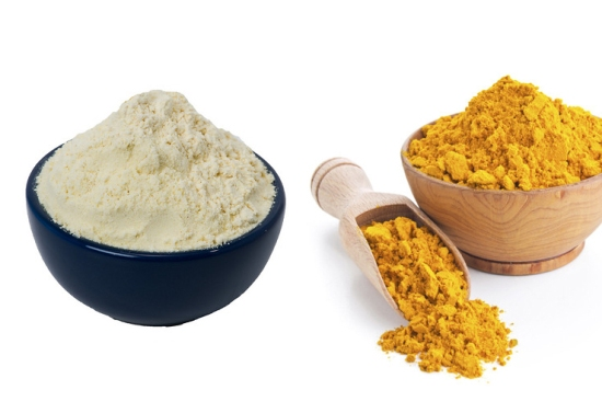Gram flour (besan) face pack for different skin types