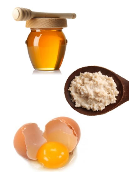 Oatmeal, Egg and Honey