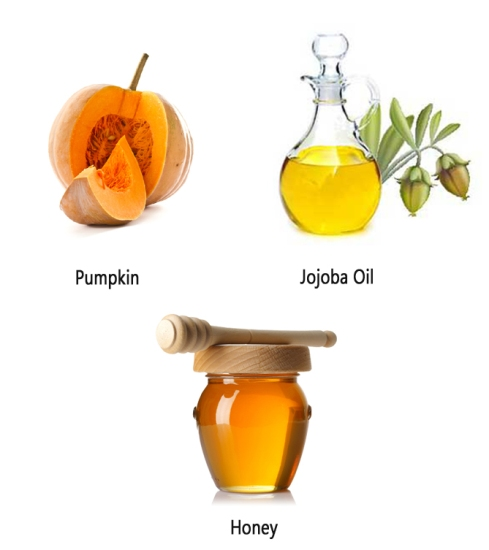 Pumpkin Jojoba Oil and Honey
