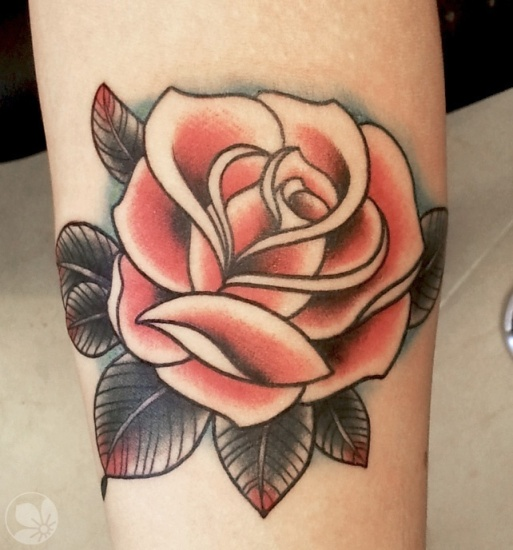 Rose tattoo designs our top 25 styles at life for Shading tattoo pain