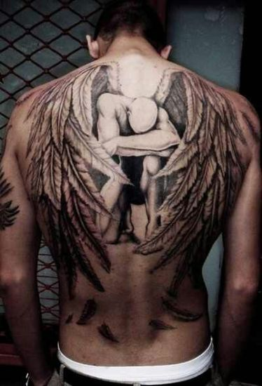 Artistic canvas style Angel