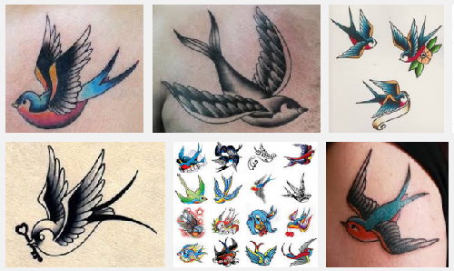 swallow tattoo designs