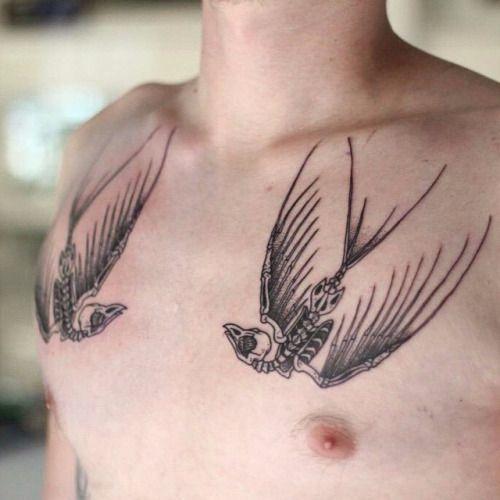 Beautiful Swallow Tattoo Designs14