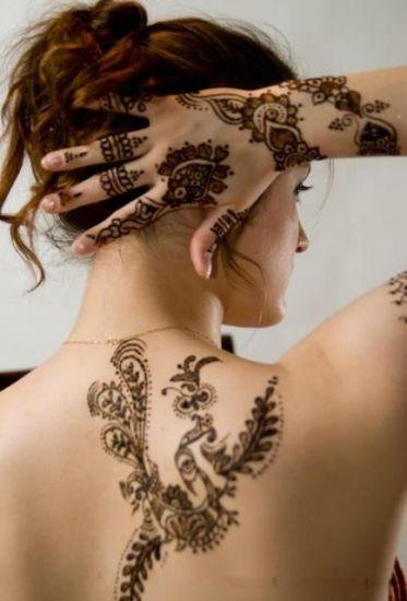 Body Art Mehndi for Girls