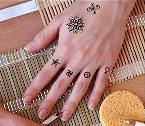 50 best temporary tattoo designs for men and women for Temporary finger tattoos