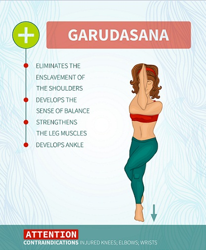 Garudasana ( Eagle Pose)