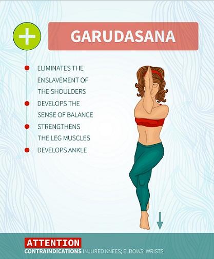 Garudasana ( Eagle Pose)