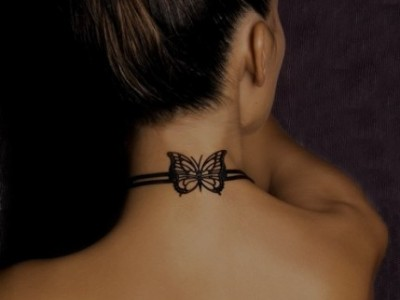 Neck band Tattoo