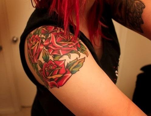 rose tattoo designs for girls