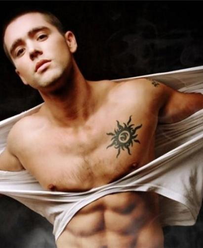 45 Intriguing Chest Tattoos For Men: 50 Best Temporary Tattoo Designs For Men And Women