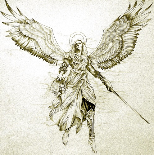 25 Beautiful Angel Tattoo Designs With Images| Styles At Life