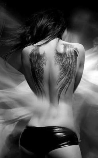 Large Wings Tattoo Designs