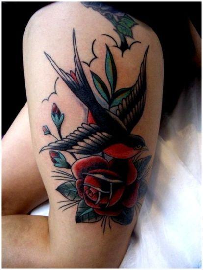 swallow rose