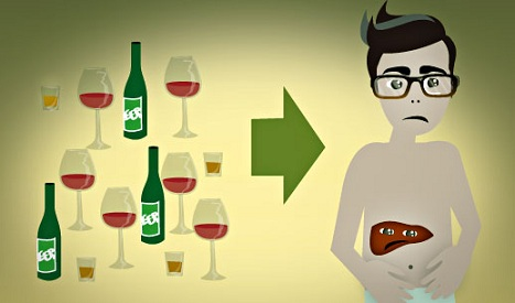 fatty liver causes - alcohol