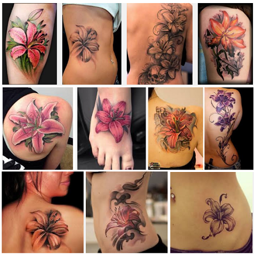 f2c42da03 25 Interesting Lily Tattoos Designs and their Meanings | Styles At Life