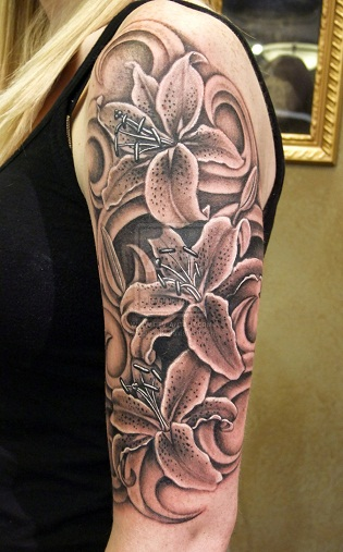 Lily Flower Tattoo Design: 25 Interesting Lily Tattoos Designs And Their Meanings