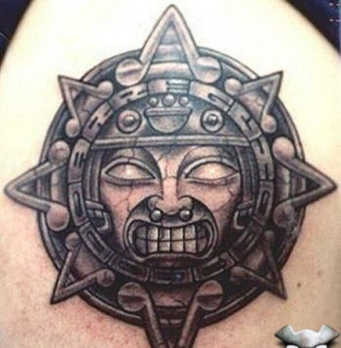 Aztec work of art Tattoo