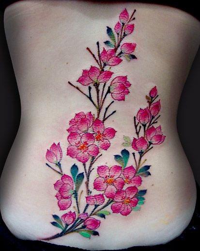 cherry-blossom-branch-tattoo