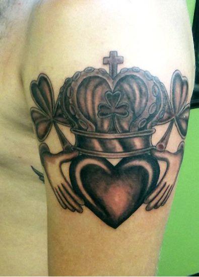 Claddagh tattoo