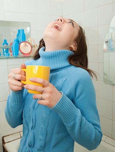 Gargle home remedies for cough and cold