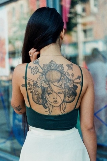 c301cb6bb 15 Best Geisha Tattoo Designs With Images | Styles At Life