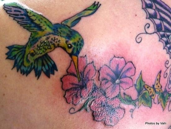 Hummingbird tattoos 4