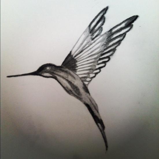 Hummingbird tattoos 5