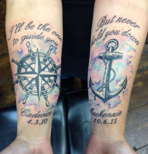 Nautical matters Tattoo