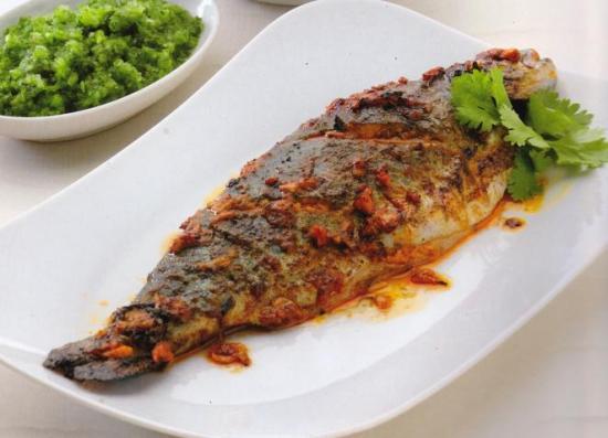 recipes with fish - tandoori fish
